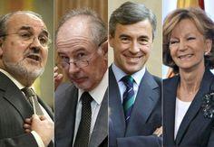 Veinte exministros y dos expresidentes están a sueldo de las grandes compañías españolas