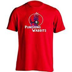 Punishing Wabbits - Mens & Womens Unisex Printing T Shirt Design Tee