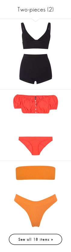 """""""Two-pieces (2)"""" by glitterals ❤ liked on Polyvore featuring intimates, lingerie, dresses, shorts, underwear, valentino, high-waisted lingerie, red valentino, high waisted lingerie and bralette lingerie"""