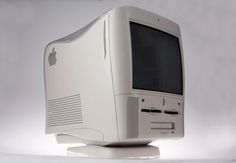 PowerPC AIO The Power Macintosh All-In-One (AIO) was the heaviest computer ever made by Apple weighing in at pounds. It featured a CRT, floppy drive, internal Zip drive and CD-ROM Computer All In One, Alter Computer, Old Computers, Desktop Computers, Apple Computers, Alibaba Shopping, Imac G3, Zip Drive, Retro Arcade