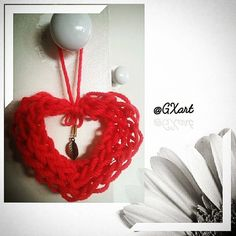 Heart fingers crochet! @GXart