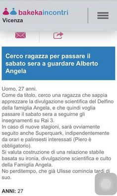 Le femmine d'Italia impazzite per Alberto Angela | Vita su Marte