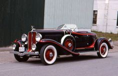 1931 Auburn 8-98A boat tail speedster