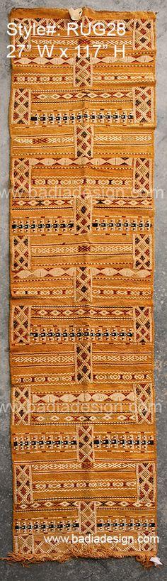 Badia Design Inc Store - Moroccan Runner Rug RUG28, (http://www.badiadesign.com/moroccan-runner-rug-rug28/)