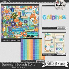 The Digichick :: Collections :: Splash Zone - Bundle