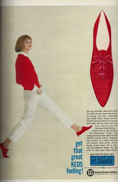 Tretorn Sneakers, Let You Down, Seventeen Magazine, Teen Models, Retro Outfits, Vintage Ads, Skirt Fashion, Keds, Things That Bounce