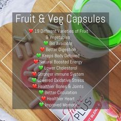 Buy Juice Plus+ Fruit, Vegetable & Berry Blend capsules to add nutrition from 30 fruits, vegetables and berries. Fruit And Veg, Fruits And Veggies, Vegetables, Juice Plus Company, Juice Plus+, Fruit Juice, Benefits Of Berries, Juice Plus Capsules, Spinach Nutrition Facts