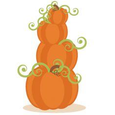 Daily Freebie 8-9-14: Miss Kate Cuttables--Pumpkins SVG cutting files cute cut files for cricut free svgs free svg cuts cute svg files