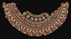 AN EGYPTIAN FAIENCE BEAD BROAD COLLAR DYNASTY XXII, 945-712 B.C.