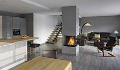 """Behagliche Wärme und ein loderndes Feuer sorgen aufs Angenehmste für eine """"Auszeit"""" in den eigene vier Wänden. Mehr über die Rüegg Kamine finden Sie hier www.ruegg-kamine.de. #ModerneKamin #KaminModerne #KaminStyle"""