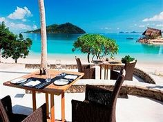 Likuliku Lagoon Resort, Malolo Island, Figi. Yes please