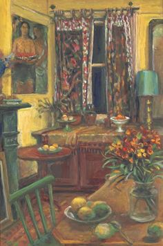 "Margaret Olley ""The front room, Duxford Street"" 1995 Australian Painters, Australian Artists, Popular Art, Beautiful Paintings, Monet, Painting Inspiration, Great Artists, Home Art, Modern Art"