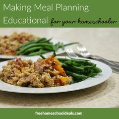 Make meal planning a learning experience in a plethora of ways! Take a look at Making Meal Planning Educational For Your Homeschooler! Make A Grocery List, Basic Kitchen, Middle School Teachers, Recipe Organization, Home Economics, Group Meals, Afrikaans, Meals For The Week