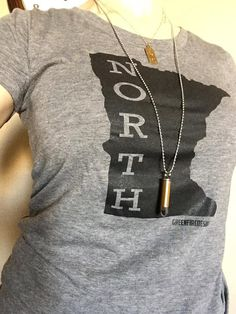 Women's Minnesota North Home shirt by GreenFireDesign on Etsy