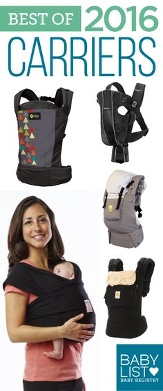 Need some advice to help you pick the best baby carrier? Here are the 5 best carriers of 2016 - based on our own research + input from thousands of parents. There is no one must-have baby carrier. Every family is different. Use this guide to help you figu Baby Must Haves, Best Baby Carrier, My Bebe, Baby Equipment, Babyshower, Baby Gadgets, Baby List, Baby Wraps, Baby Needs