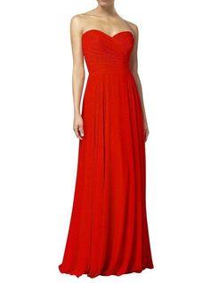 FREYA Dress - Scarlet Red