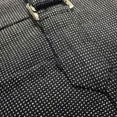 Bespoke, hand made trouser details, 11oz pure wool nail head cloth by Hardy Minnis #canvasbyjhcutler #jhcutler #mensluxury #bespoketailor #est1884 #sartorialdetails #sydney #australia #handmadetrousers #bespoketrousers #trouserdetails #timeless #sartorial #elegance #mensstyle #hardyminnis