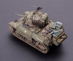 Stuart M3A3 Light Tank . S-model 1:72 by Kit Lao