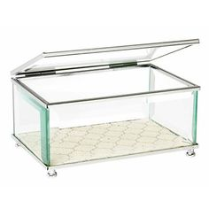 Image for Glass Jewellery Box from Kmart