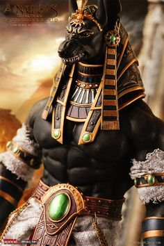 Anubis Guardian of the Underworld Scale Action Figure - Entertainment Earth Ancient Egyptian Deities, Ancient Egyptian Religion, Egyptian Mythology, Anubis Tattoo, Egypt Tattoo, Cthulhu, American Horror, Action Figures, Ancient Egypt