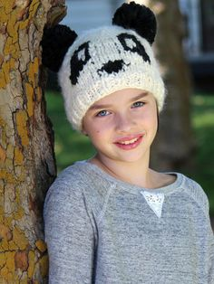 Animal hats are in and kids are loving this cuddly soft Panda Bear hat. Makes a fun hat for kids with cancer or alopecia. Free 2-day shipping with Amazon Prime.