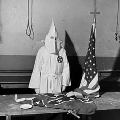 When it comes to hate groups in America, of course, the longest-lived and most readily identifiable remains the Ku Klux Klan, which has been operating at varying degrees of influence and strength for close to 150 years.  In May 1946, LIFE magazine ran a series of remarkable pictures from a Klan initiation in Georgia, at the start of the Second Klan era.