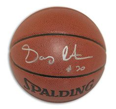 Gary Payton Autographed Indoor/Outdoor Basketball