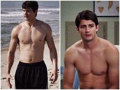Nathan Scott shirtless!! Yes please!! Haha!