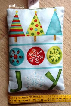christmas decoration quilt  panel