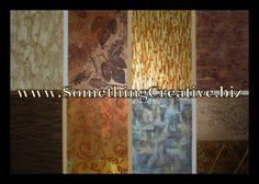 Custom Decorative Finishes by www.SomethingCreative.biz     Instructor: Mr. Gary Lord