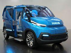 La Iveco Vision es todo un adelanto de lo que traerán los vehículos comerciales del futuro: más ligeras, sostenibles y repletas de tecnología.