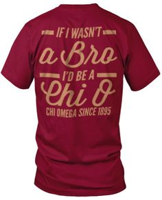 If I wasn't a Bro, I'd be an Alpha O! <3 <3