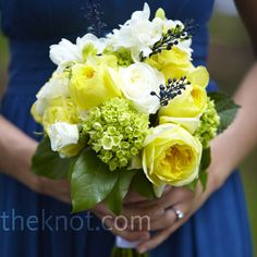 White and Yellow Bouquets