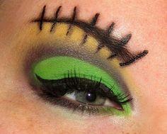 Frankenstein stitched eyes