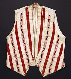 Vest - 1850-69. Spanish.