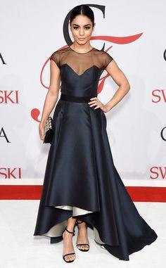Vanessa Hudgens from 2015 CFDA Fashion Awards: Red Carpet Arrivals