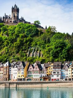 Cochem, Germany  This town in Germany's Rhineland-Palatinate state its most distinguishing feature is a historic castle that peers over the town and the banks of the Moselle river.