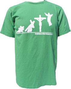 Evolution of the Resurrection Christian Tshirt by ToolsForChrist