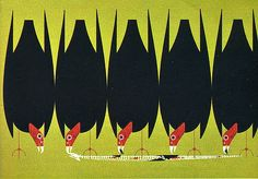 All illustrations by Charley Harper. I saw a piece on Sunday Morning that introduced me to an artist whose work is inspiring. Bird Illustration, Character Illustration, Charley Harper, Nature Artwork, Bird Pictures, Wildlife Art, Art Images, Art Lessons, Birds