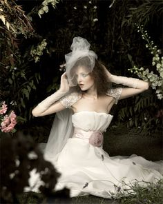 Italian fashion house Blumarine's bridal collection