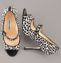Manolo Blahnik Satin Low-Heel Halter, Leopard [thebest171301] - $173.00 : Discounted Christian Louboutin,Jimmy Choo,Valentino Shoes Online store