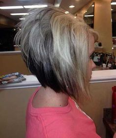 Short Stacked Hairstyles Impressive Short Stacked Bob Hairstyles Back  Hair Cuts  Pinterest  Short