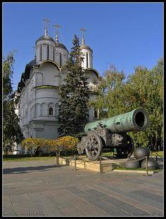 Tsar Cannon & Patriarch's Palace, Moscow, Russia Copyright: Arthur Lookyanov