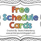 FREEBIE - This packet contains cards to display a daily classroom schedule. Cards included: ~Arrival ~Morning Work ~Literacy Block ~Art ~Music ~P. Classroom Daily Schedule, Kindergarten Schedule, Daily Schedule Kids, Schedule Board, Daily Schedules, Classroom Labels, Classroom Tools, Classroom Freebies, Classroom Organization