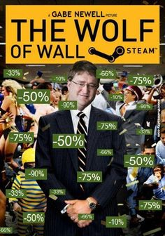 Gabe Newell, the wolf