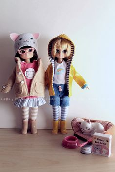 [Alegna] and [the wolf]: lottie dolls