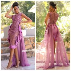 Image may contain: 2 people, people standing and text African Lace Styles, African Lace Dresses, Latest African Fashion Dresses, African Print Fashion, Stylish Dresses, Elegant Dresses, Lace Dress Styles, African Attire, Classy Dress