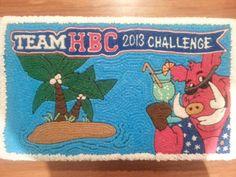HBC team challenge cake 2013