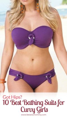 Got hips? The 10 best bathing suits for curvy girls! http://beautymommy.com/