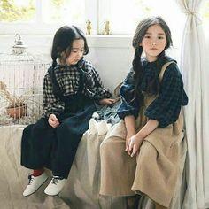 Aika & Aiko – Atendendo a Pedidos – Children Fashion Kids, Korean Fashion, Korean Babies, Asian Babies, Kawaii, Japanese Kids, Ulzzang Kids, Kid Styles, Child Models